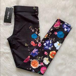 ‼️RESTOCKED‼️Terez Floral Leggings NWT